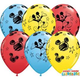 Latex Ballonnen Mickey Mouse