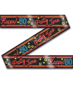 Afzetlint Neon Party 60