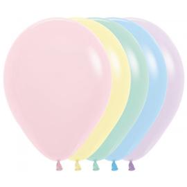 Latex Ballonnen Mix Pastel