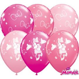 Latex Ballonnen Minnie Mouse