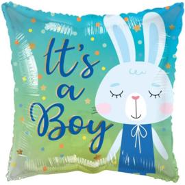 Folie Ballon It's a Boy Rabbit (leeg)