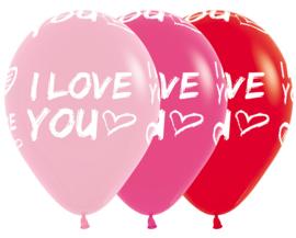 Latex Ballonnen I Love You