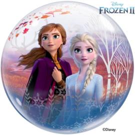 Folie ballon Frozen 2 Bubble Anna/Elsa/Olaf/Kristoff/Sven (leeg)
