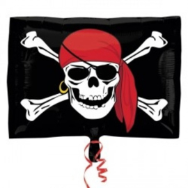 Folie ballon Jolly Roger (leeg)
