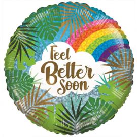 Folie Ballon Feel Better Soon (leeg)