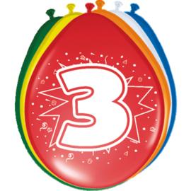 Latex Ballonnen 3 jaar