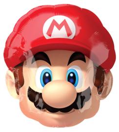 Folie Ballon Super Mario Hoofd (leeg)