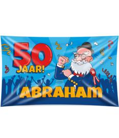 Gevel Vlag 50 jaar Abraham