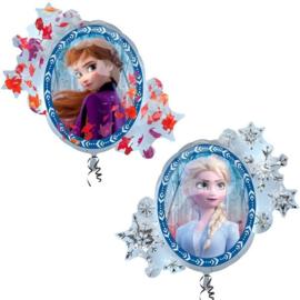Folie ballon Frozen 2 spiegel (leeg)