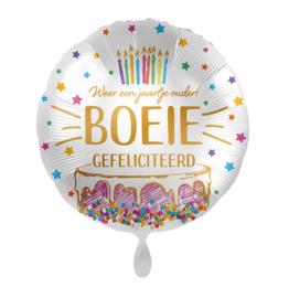 Folie Ballon Gefeliciteerd Boeie! (leeg)