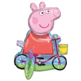 Folie Ballon Centre Piece Peppa Pig (leeg)