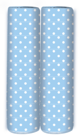 Serpentine Blauw Polka Dots