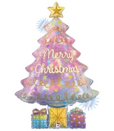 Folie Ballon Kerstboom (leeg)