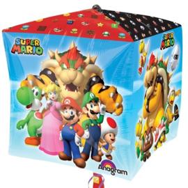 Folie Ballon Super Mario Cubez (leeg)