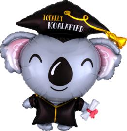 Folie ballon Koala Geslaagd (leeg)