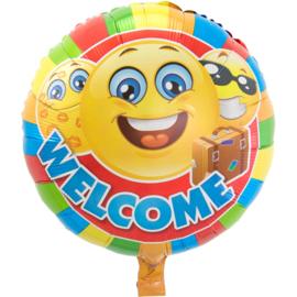 Folie ballon Welkom thuis (leeg)