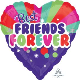 Folie Ballon Best Friends Forever (leeg)