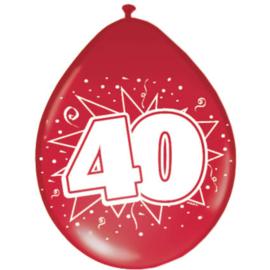 Latex Ballonnen 40 jaar huwelijk
