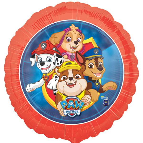 Folie Ballon Paw Patrol Red (leeg)