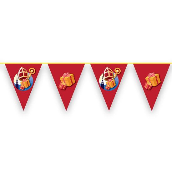 Vlaggenlijn Sinterklaas 10 Meter
