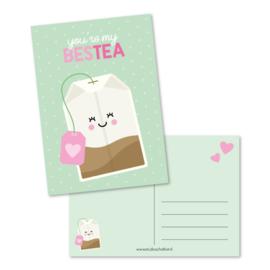 Postkaart - You're my bestea