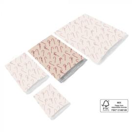 Inpakzakjes Candy 17 x 25 cm (set van 5)