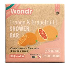 Shower Bar - Srubbie Orange/Grapefruit