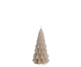 Kerstboomkaars linnen 6,3 cm x 12 cm