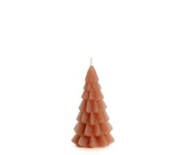 Kerstboomkaars brique 6,3 cm x 12 cm