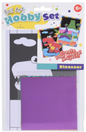 Creatief met folie - Dino