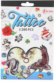 Tattoo - 280 stuks (blauw)