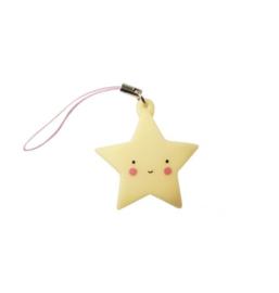 Hangertje ster - geel