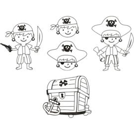 Krimpfolie - Piraten