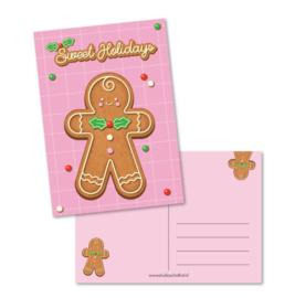 Postkaart - Sweet holidays