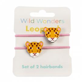 Haarrekkers Wild Wonders Leopard