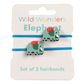 Haarrekkers Wild Wonders Elephant