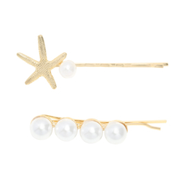 Hairclips sea - goud