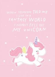Kaartje - unicorn
