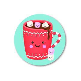 Sticker - Warm wishes (5 stuks)