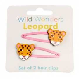 Haarspeldjes Wild Wonders Leopard