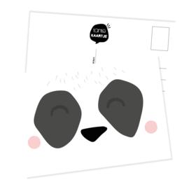 Ansichtkaart | Snoetje panda