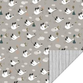Inpakpapier| Baby bird | 30CM x 3M