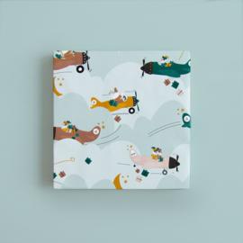 Inpakpapier | Sint Pakjesvliegtuig