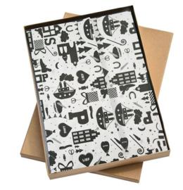 Vloeipapier | Hop Hop Hop - 5 stuks