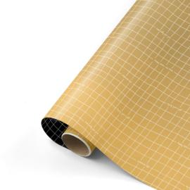 Inpakpapier | Wishing you the best goud/zwart 3M