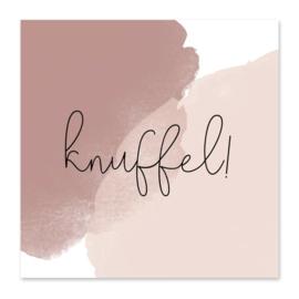 Mini kaartje | Knuffel!