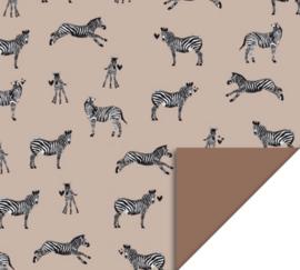 Inpakpapier| Zebra | 30CM x 3M