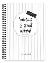 Notitieboekje || Vandaag is goud waard