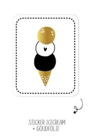 Sticker | Icecream | 10 stuks