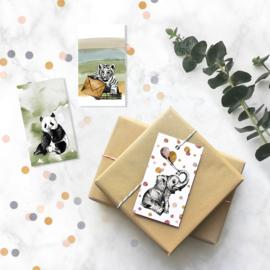 Mini kaartje | Olifant